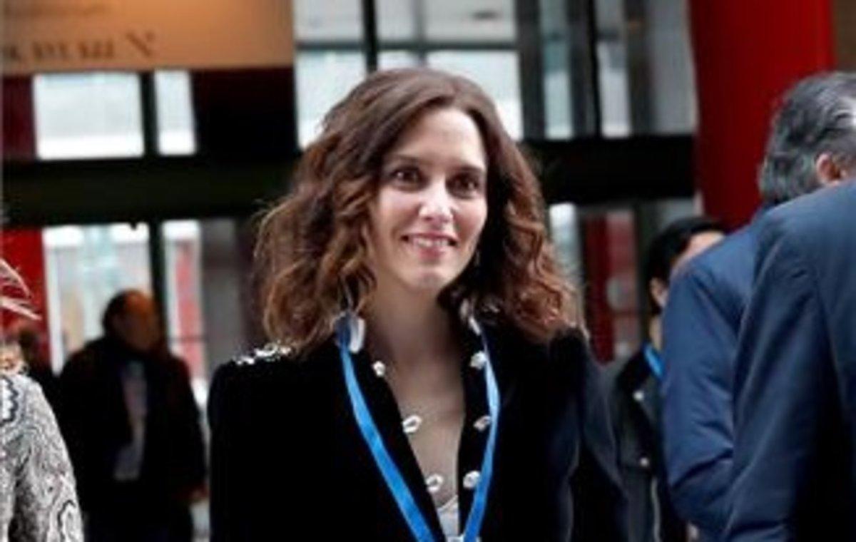 La portavoz y candidata del PP de Madrid, Isabel Díaz Ayuso.
