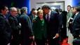 El presidente de EEUU y la cancillera alemana, tras una reunión de líderes de la eurozona en Cannes, en noviembre pasado.