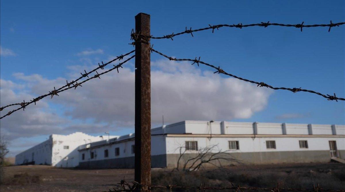 El centro de internamiento de extranjeros (CIE) de Fuerteventura.