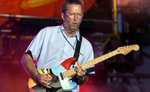 Clapton, en un concierto en Dallas, en el 2004.