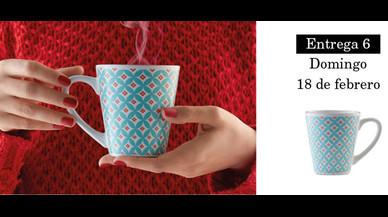 Colección de tazas modernistas de Pilma. Entrega 6