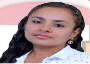 Gloria Ocampo, líder social asesinada en Colombia.