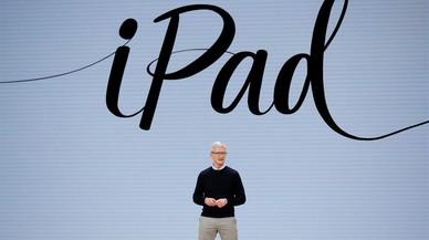 Apple lanza un nuevo iPad con soporte para Pencil