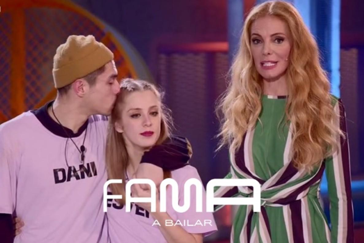 'Fama a bailar' | Belén se convierte en la primera expulsada y Dani reta a Ester para quedarse con Pablo