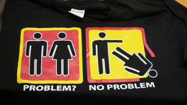 Las camisetas que han levantado la polémica en Mallorca.