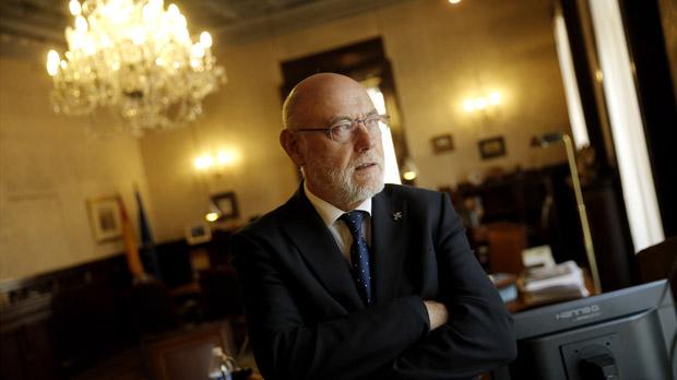 Entrevista con José Manuel Maza Martín, fiscal general del Estado.