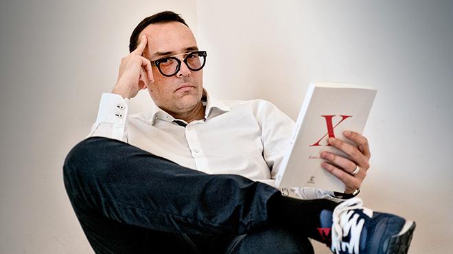 El publicista, presentador y escritor nos presenta X su nuevo libro