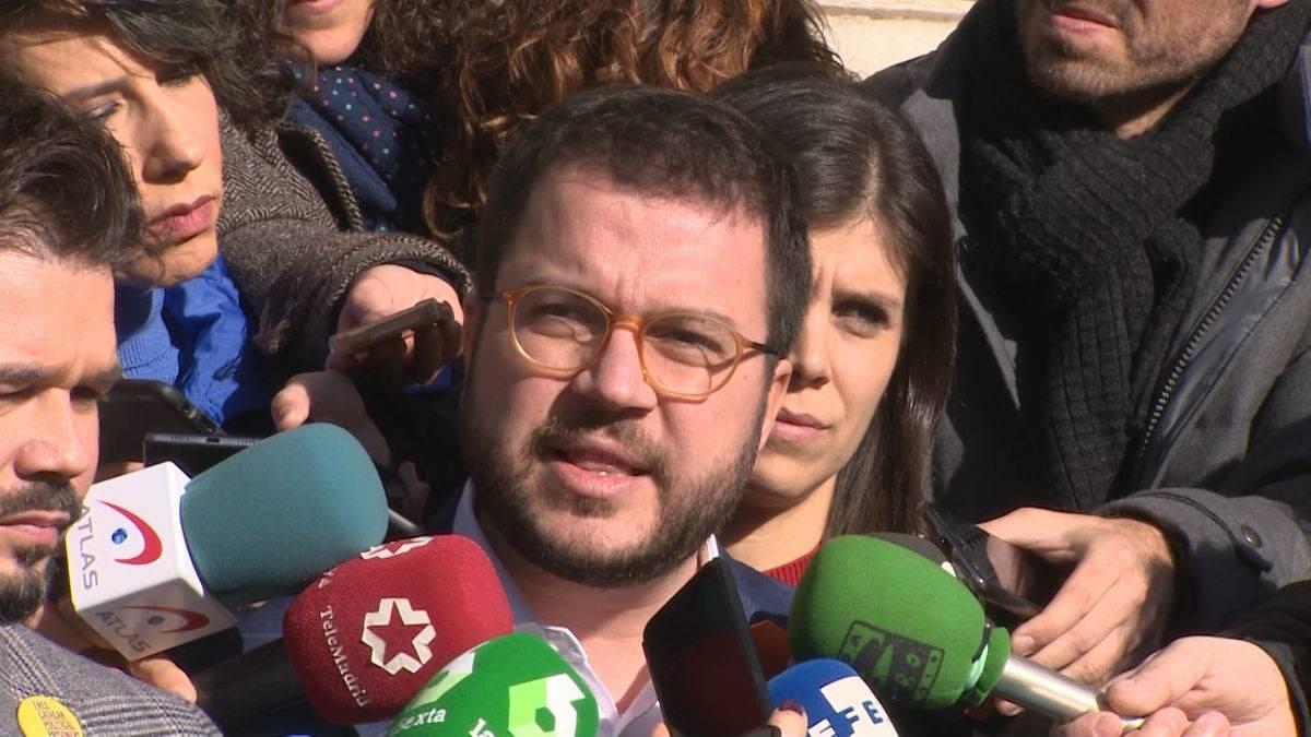 Pere Aragonès ha asegurado que su partido no tiene prisa en investir a Pedro Sánchez antes de Navidad y ha defendido que es preferible un buen acuerdo a un acuerdo rápido.