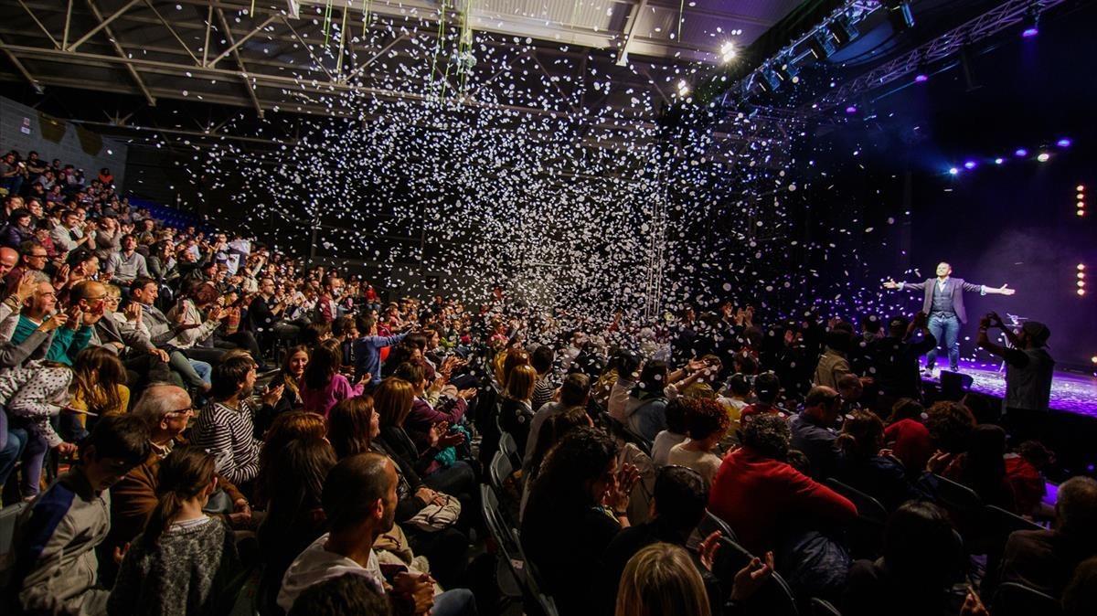 El espectáculo de Jorge Blass cerró la tercera edición del Festival.
