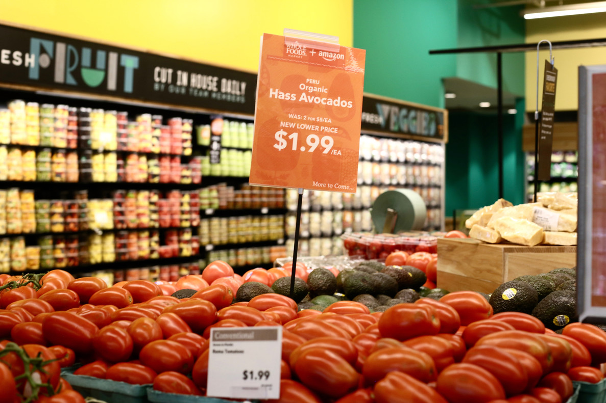Whole Foods: plátanos con mensaje