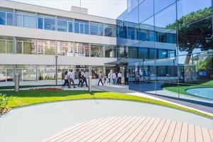 Excelencia 8Una de las instalaciones del IESE en Barcelona.