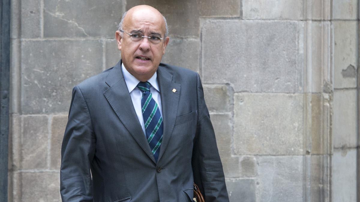 El exconseller Boi Ruiz.
