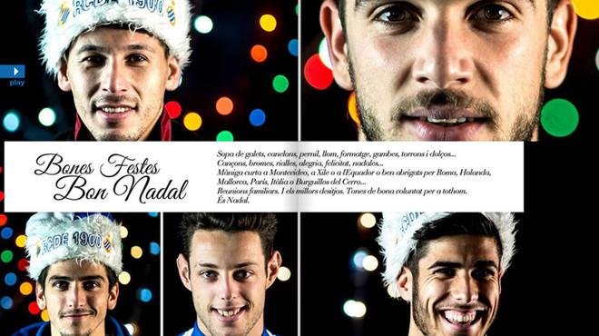 Las Navidades de los jugadores del Espanyol