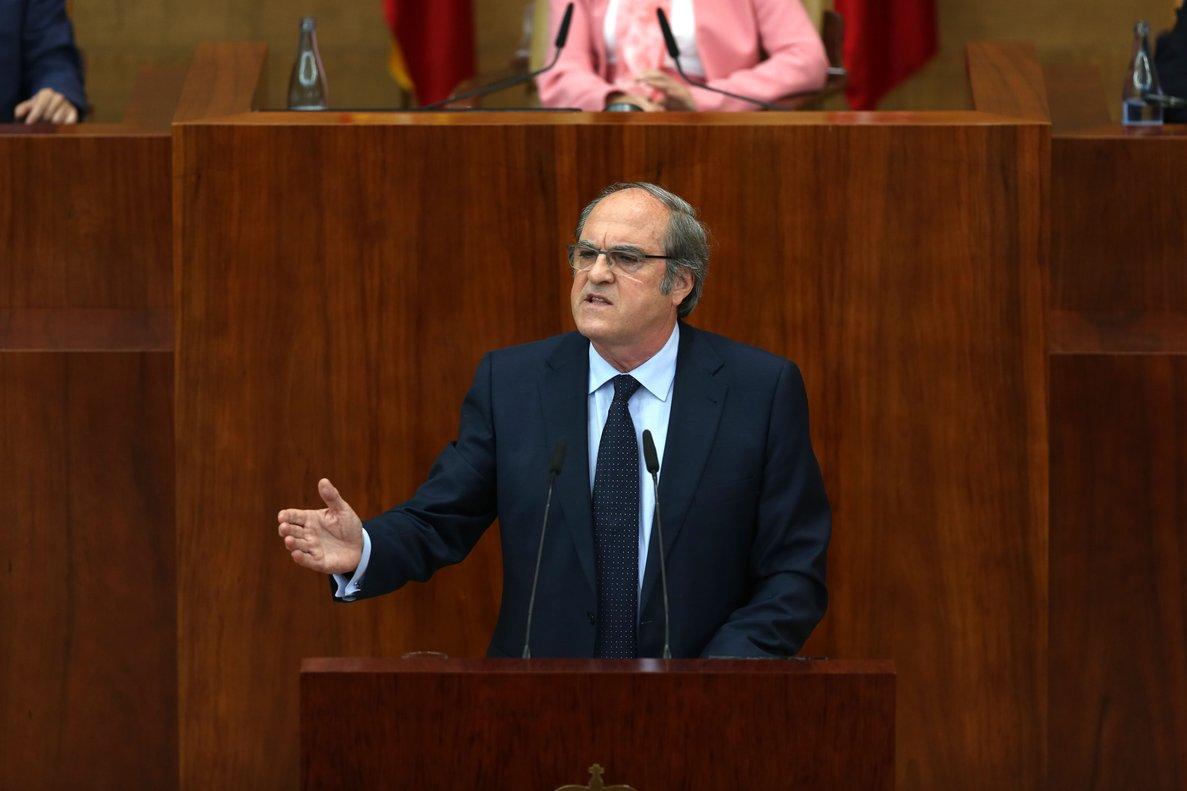 El candidato socialista a la Comunidad de Madrid, Ángel Gabilondo.