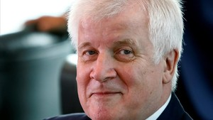 El ministro de Interior alemán,Horst Seehofer.