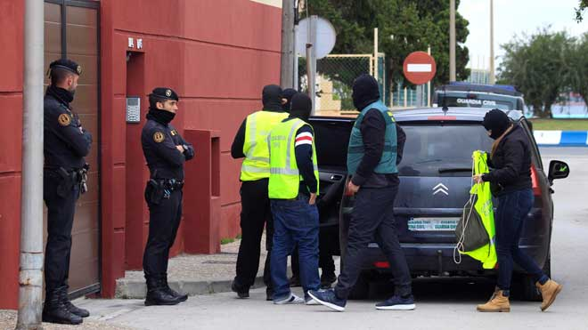 Macrooperació contra el narcotràfic a La Línea