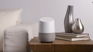 El Google Home, en una imagen promocional.