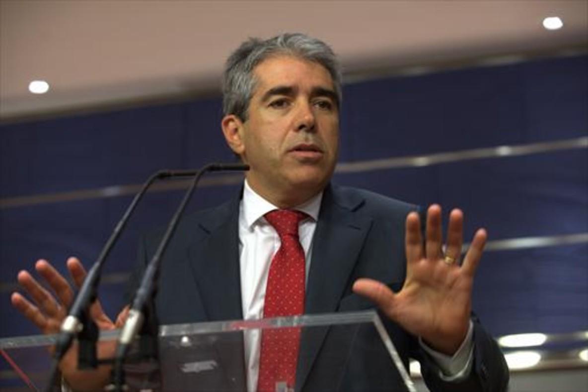 Homs, el 27 de julio del 2016 en el Congreso de los Diputados.