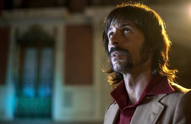 El actor Hugo Silva, caracterizado como Pacino en una secuencia de 'El Ministerio del Tiempo'.