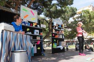 Imagen de la Fiesta del Comercio Justo de Sant Boi de 2016