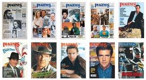 Imagen de las primeras portadas de la revista.