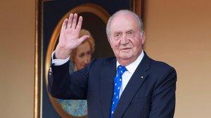 El rey emérito Juan Carlos I, enla plaza de toros de Aranjuez, el 2 de junio del año pasado.