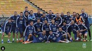 La selección de Argentina que ha disputado la Copa América2019.