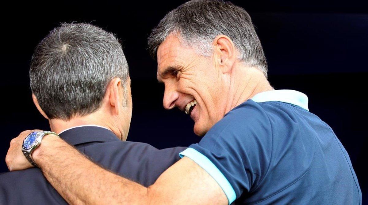 Valverde: «A Ipurua es pateix sempre»