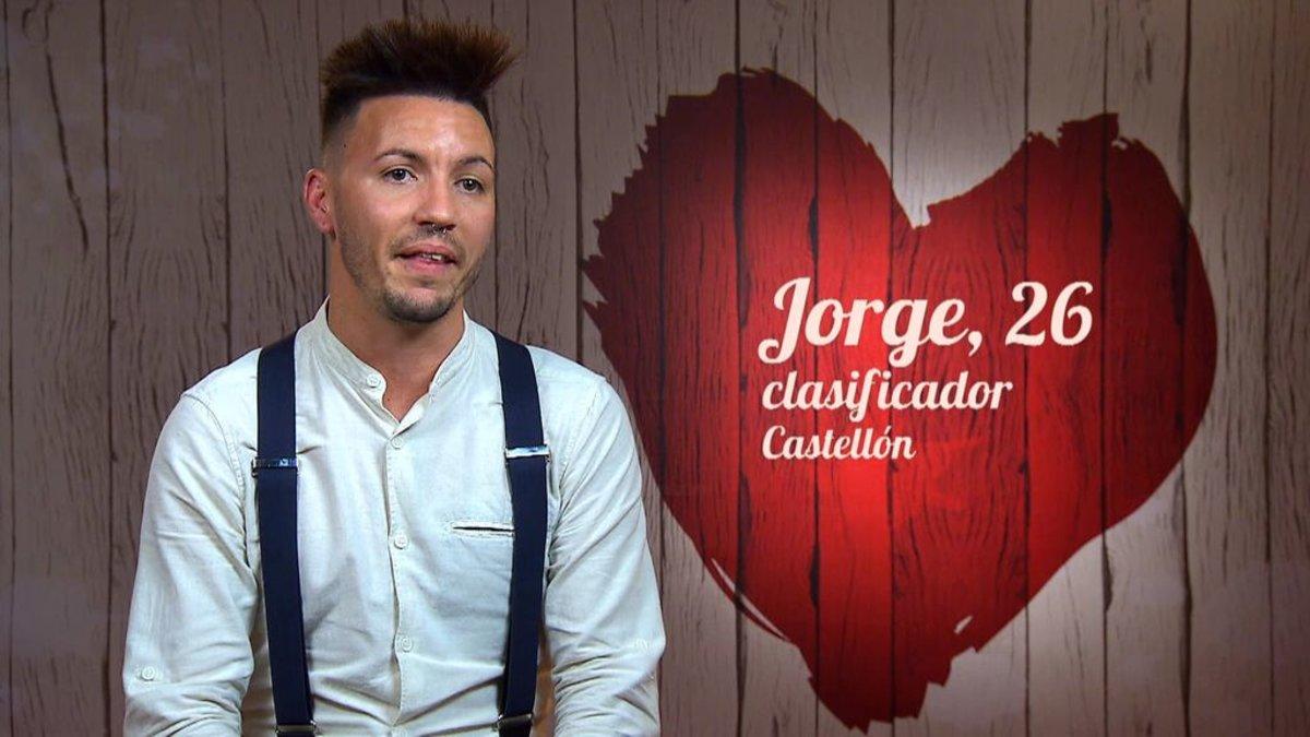 Jorge, el comensal que protagonizó la atrevida confesión en 'First Dates'.