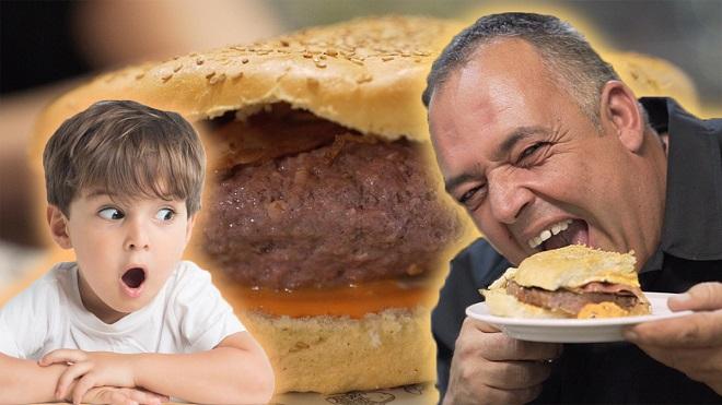 Las hamburguesas más grandes de Catalunya. Este restaurante te reta con su comida gigante.
