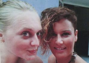 Laura Del Hoyo Chamón y Marina Okarynska, las dos jóvenes desaparecidas el jueves en Cuenca.