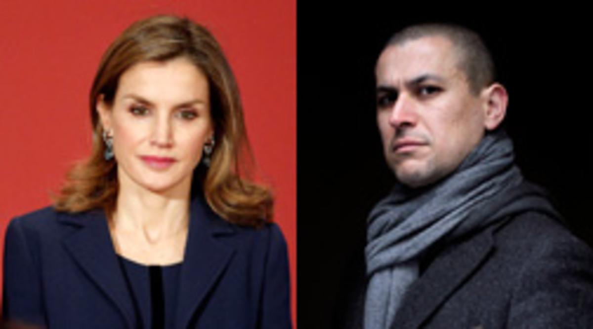 La reina Letizia y el director de cine Rodrigo Cortés.