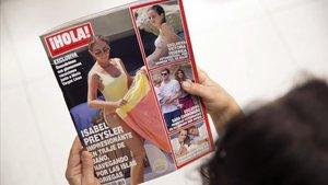 Isabel Preysler llueix tipàs a l'Egeu