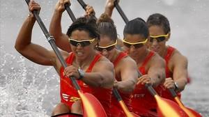 L'olímpica Bea Manchón, vetada en la categoria absoluta del descens del Sella per ser dona