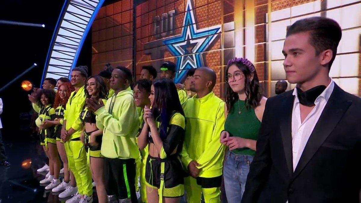 Los finalistas de la cuarta semifinal de 'Got talent'.