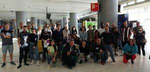 Los turistas españoles atrapados en el aeropuerto de Fuerteventura.