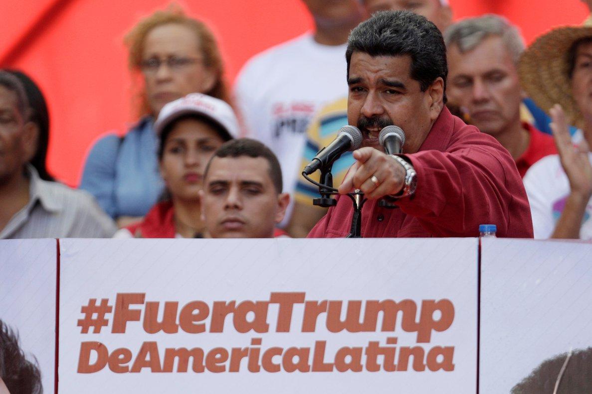 Maduro no ofreció pruebas de sus denuncias.