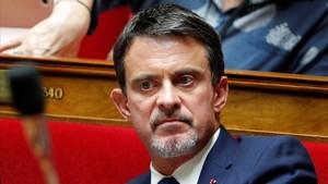 Manuel Valls, exprimer ministro francés.