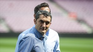 """Valverde: """"L'equip que tinc ara mateix és el millor del món"""""""