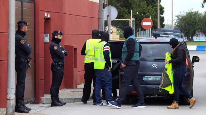 Más de 30 detenidos en una operación antidroga en el Campo de Gibraltar.