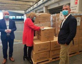 La Diputació de Barcelona distribueix 17.000 mascaretes en municipis de menys de 20.000 habitants