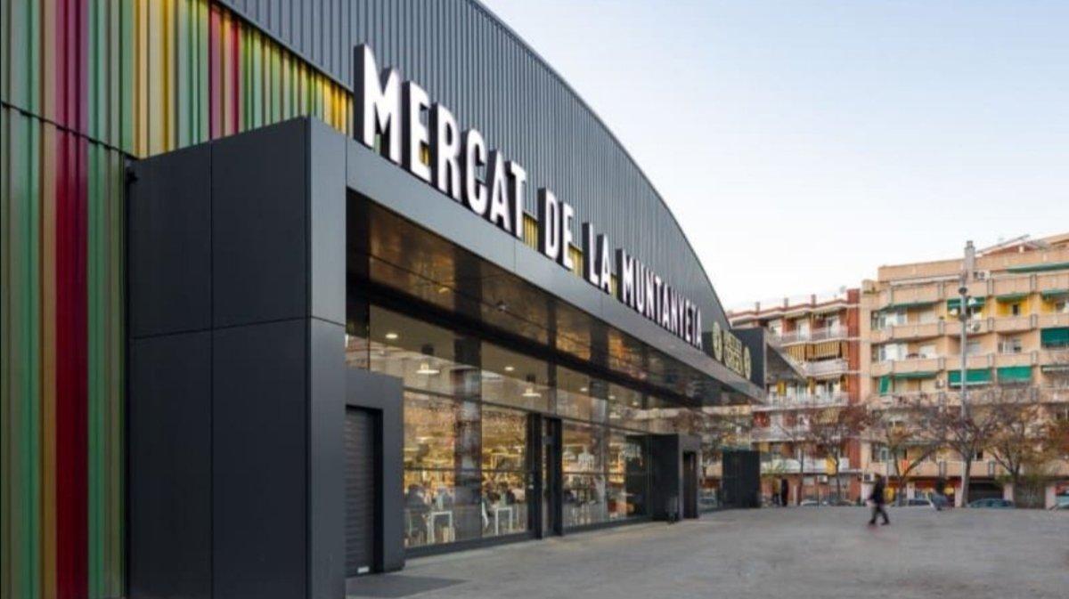 Mercado de La Muntanyeta de Sant Boi de Llobregat.