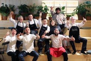Los cocineros que participan enMercat d'Autors, de Ametller Origen.