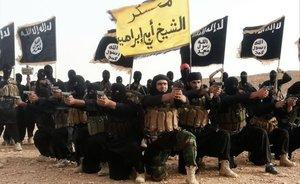 Miembros del grupo terrorista Estado Islámico.
