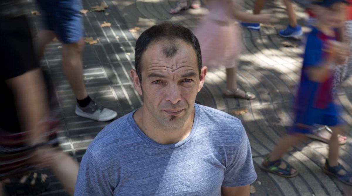 Miguel Martín trabajabaen LaRamblaen el atentado del pasado 17 de agosto de 2017.