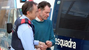 El militante de Vox a Lleida Jose Antonio Ortiz Cambray,detenido por los Mossos.