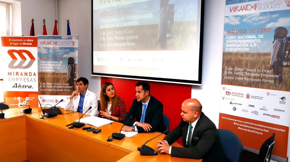 Miranda Business Market convoca a los principales referentes del ecosistema inversor y 'start-up'