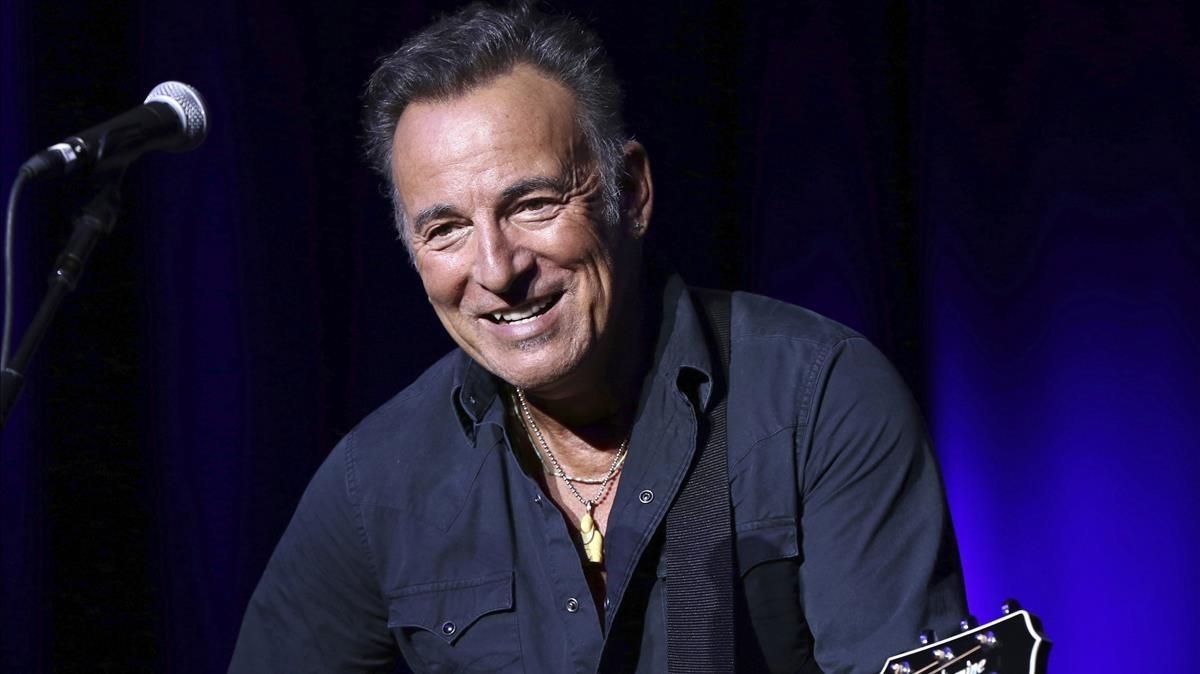 El músico estadounidense Bruce Springsteen.