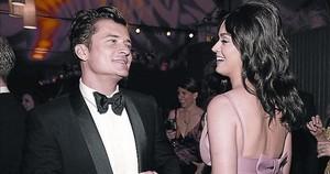 Una imagen de archivo de Katy Perry y Orlando Bloom, su novio hasta hace unos días.