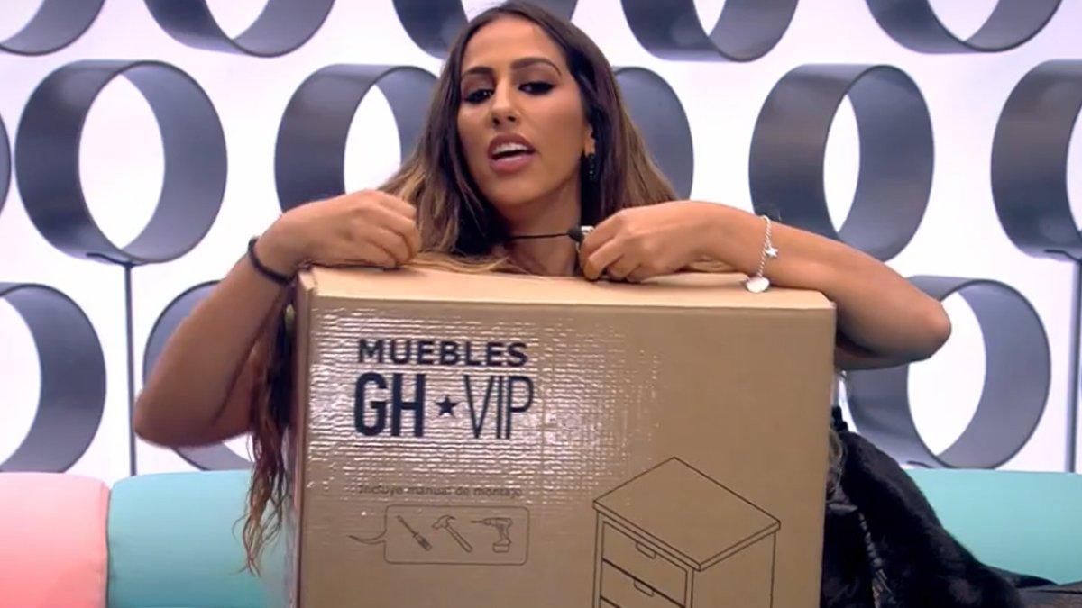 Noemí es rebel·la a 'GH VIP' després de ser escollida com a 'moble' de la casa: «No era necessari»
